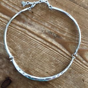 Lucky Brand silver necklace, like new